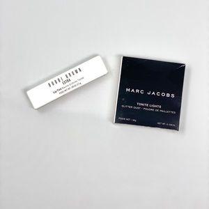 Bobbi Brown Lip Tint + Marc Jacobs Eyeshadow